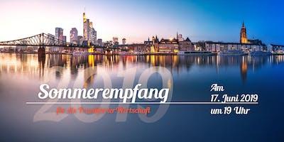 Sommerempfang für die Frankfurter Wirtschaft 2019