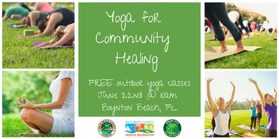 FREE Yoga For Community Healing