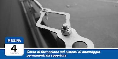 Formazione sui sistemi di ancoraggio permanenti da copertura | Messina