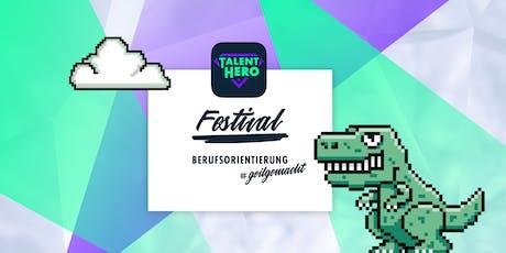 TalentHero  Festival: Berufsorientierung #geilgemacht Tickets