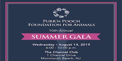 Purr'n Pooch Foundation for Animals Summer Gala