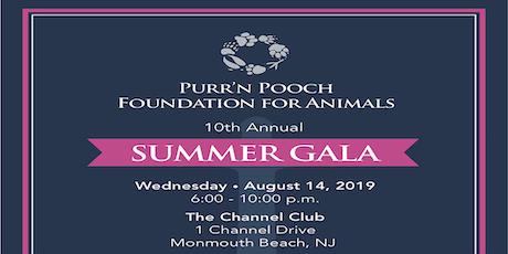 Purr'n Pooch Foundation for Animals Summer Gala tickets