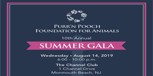 Purr'n Pooch Foundation for Animals Summer Gala