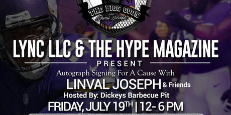 LYNC LLC & HYPE MAGAZINE PRESENTS DICKY'S AUTOGRAPH SIGNING FOR A CAUSE tickets