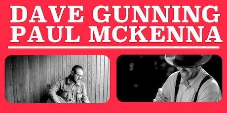Dave Gunning & Paul McKenna in Concert - Miramichi tickets