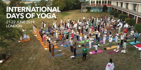 INTERNATIONAL DAY OF YOGA - 22ND JUNE tickets