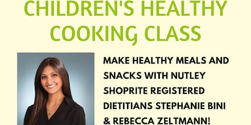 Children's Healthy Cooking Class (7/16 at 11:45 AM)