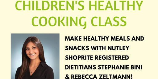 Children's Healthy Cooking Class (7/23 at 11:45 AM)
