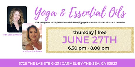 Yoga and Essential Oils tickets