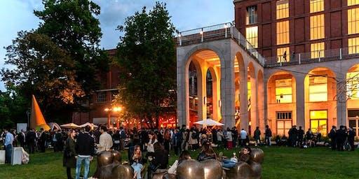 Giardino Triennale Milano - Mercoledì 24 Luglio 2019 - Notte sotto le stelle Sunset Cocktail Party con Dj set - Lista Miami - Accrediti e Tavoli Al 338-7338905