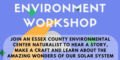 Essex County Environmental Workshop: Starry Skies (7/25 at 10:45 AM)