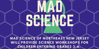 Mad Science Workshop: Living in Space (7/18 at 1:45 PM)