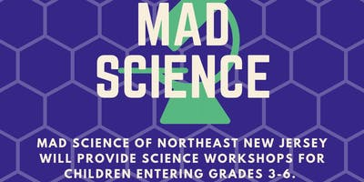 Mad Science Workshop: Planets & Moons (7/25 at 1:45 PM)