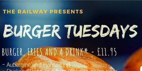 Burger Tuesdays tickets