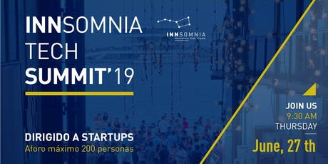 INNSOMNIA TECH SUMMIT'19 entradas
