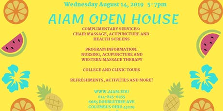 AIAM Open House tickets
