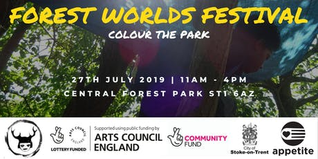 Forest Worlds Festival - Colour the Park tickets