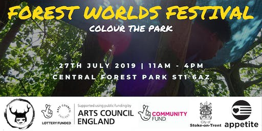 Forest Worlds Festival - Colour the Park