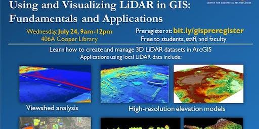 Using and Visualizing LiDAR in GIS: Fundamentals