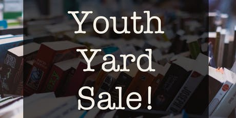 PPC Youth HUGE Community Yard Sale tickets