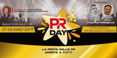 PR DAY (2° edizione) - LA FESTA DELLE PR biglietti