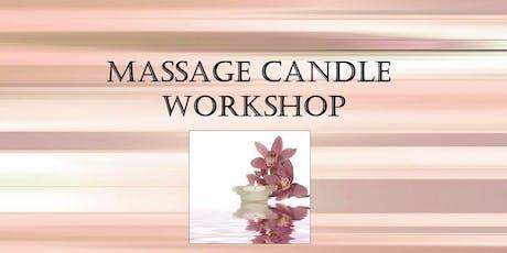 Massage Candle Workshop tickets
