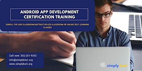 Android App Development Certification Training in Charleston, SC tickets