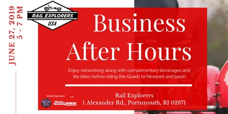 Business After Hours at Rail Explorers tickets