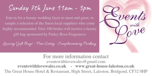 Luxury Wedding Fayre At The Great House Hotel Brid