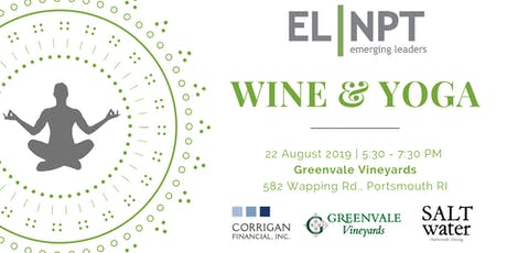 Emerging Leaders Wine & Yoga tickets