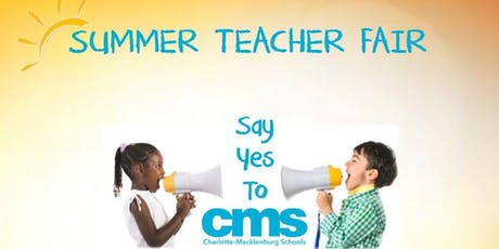 Charlotte-Mecklenburg Schools 2019 Summer Teacher Job Fair tickets