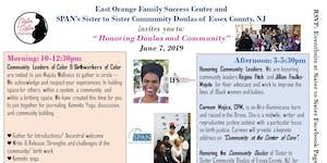 Honoring Community Doulas & Community