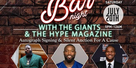 LYNC LLC AND HYPE MAGAZINE BAR NIGHT WITH GIANTS tickets