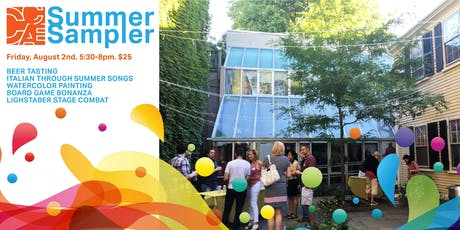 CCAE Summer Sampler: Beer Tasting, Watercolor, Lightsaber Combat, and More! tickets