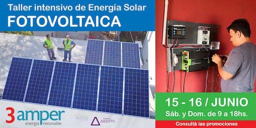 Taller intensivo de Energía Solar Fotovoltaica
