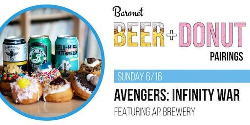 Avengers: Infinity War - Beer + Donut Pairing