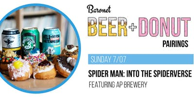 Spiderman: Into the Spider-Verse - Beer + Donut Pairing