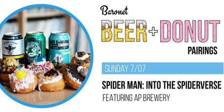 Spiderman: Into the Spider-Verse - Beer + Donut Pairing tickets