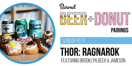 2nd Annual Thor: Ragnarok Beer + Donut Pairing tickets