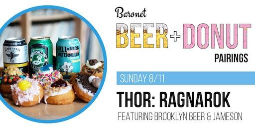 2nd Annual Thor: Ragnarok Beer + Donut Pairing