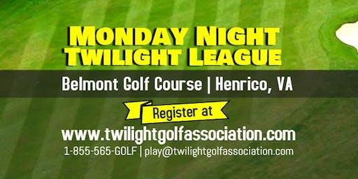 Monday Twilight League at Belmont Golf Course