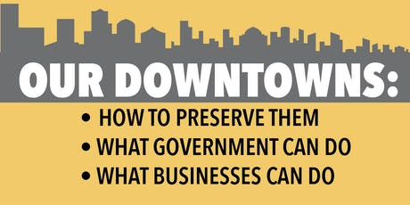 On The Record Community Forum: Downtown Revitalization tickets