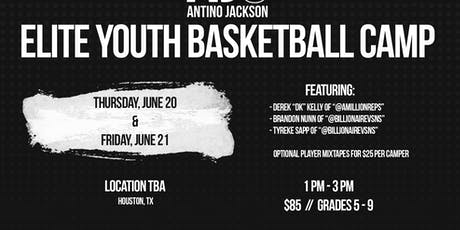 2nd Annual Antino Jackson Elite Youth Skills Camp tickets