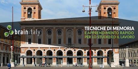 Forlì: Corso gratuito di memoria biglietti