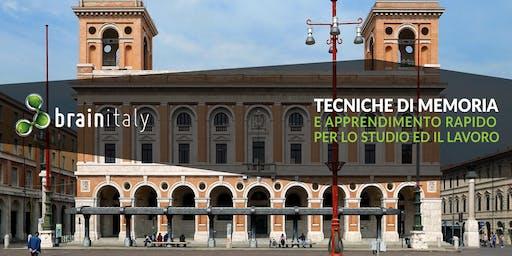 Forlì: Corso gratuito di memoria
