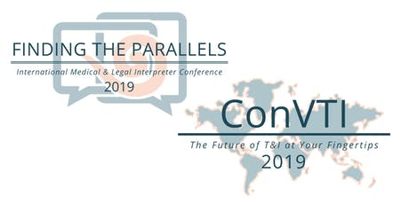 INTERPRETER CONVENTIONS - Finding the Parallels + ConVTI 2019 tickets