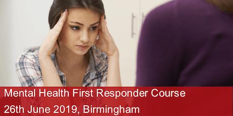 Mental Health First Responder Course - Birmingham tickets