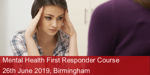 Mental Health First Responder Course - Birmingham