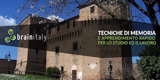 Cesena: Corso gratuito di memoria