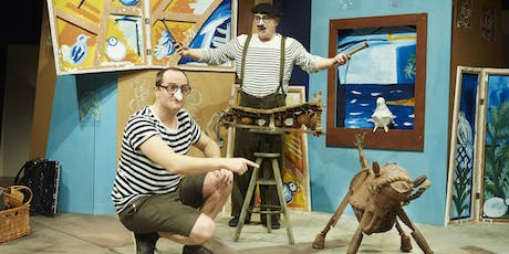 The Boy Who Bit Picasso - A hilarious and interactive family show  tickets